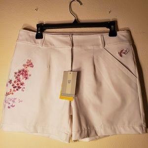 Nike Dri-Fit UV women's golf shorts NEW sz M